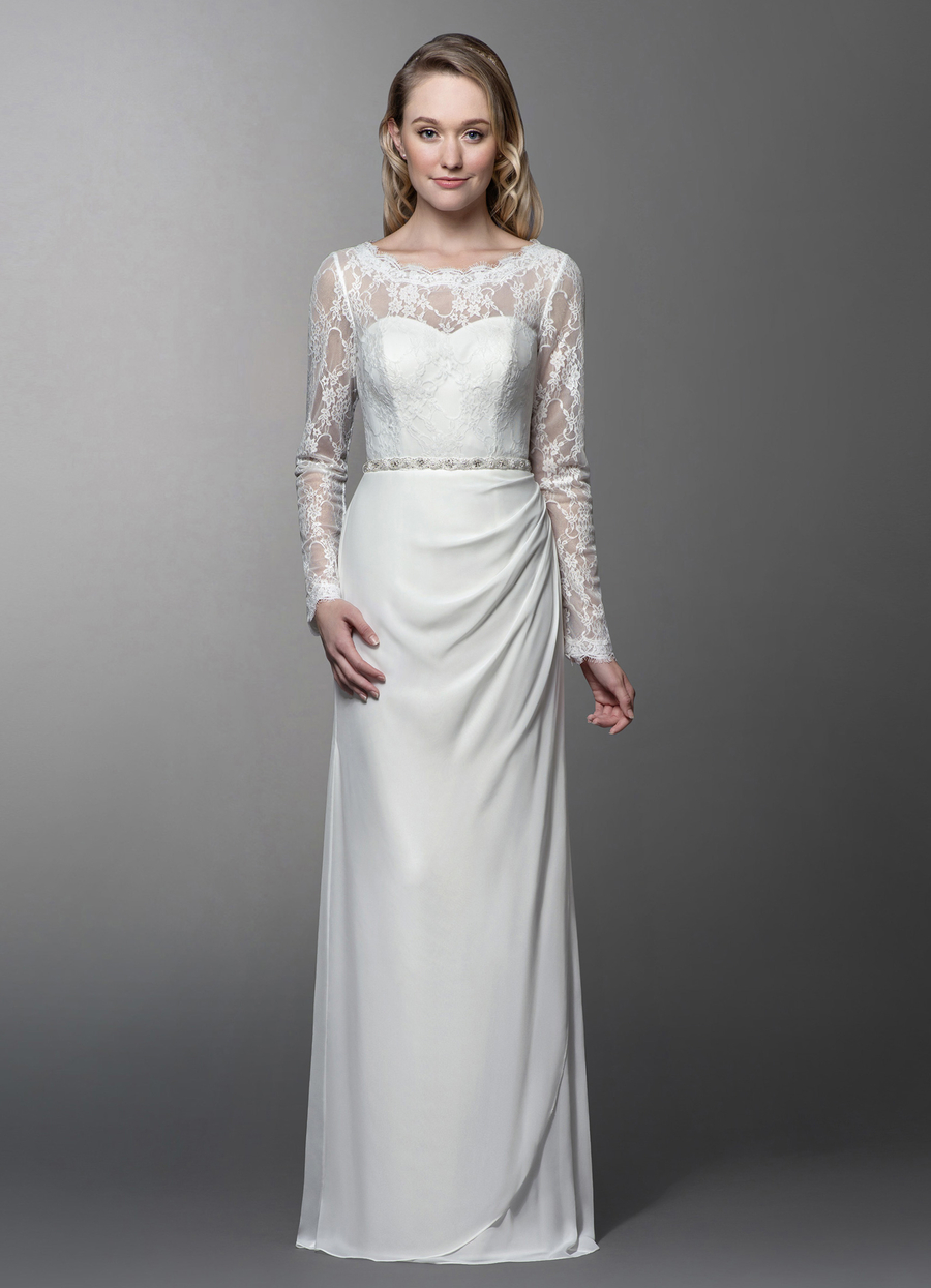 Azazie Chantrelle Wedding Dress