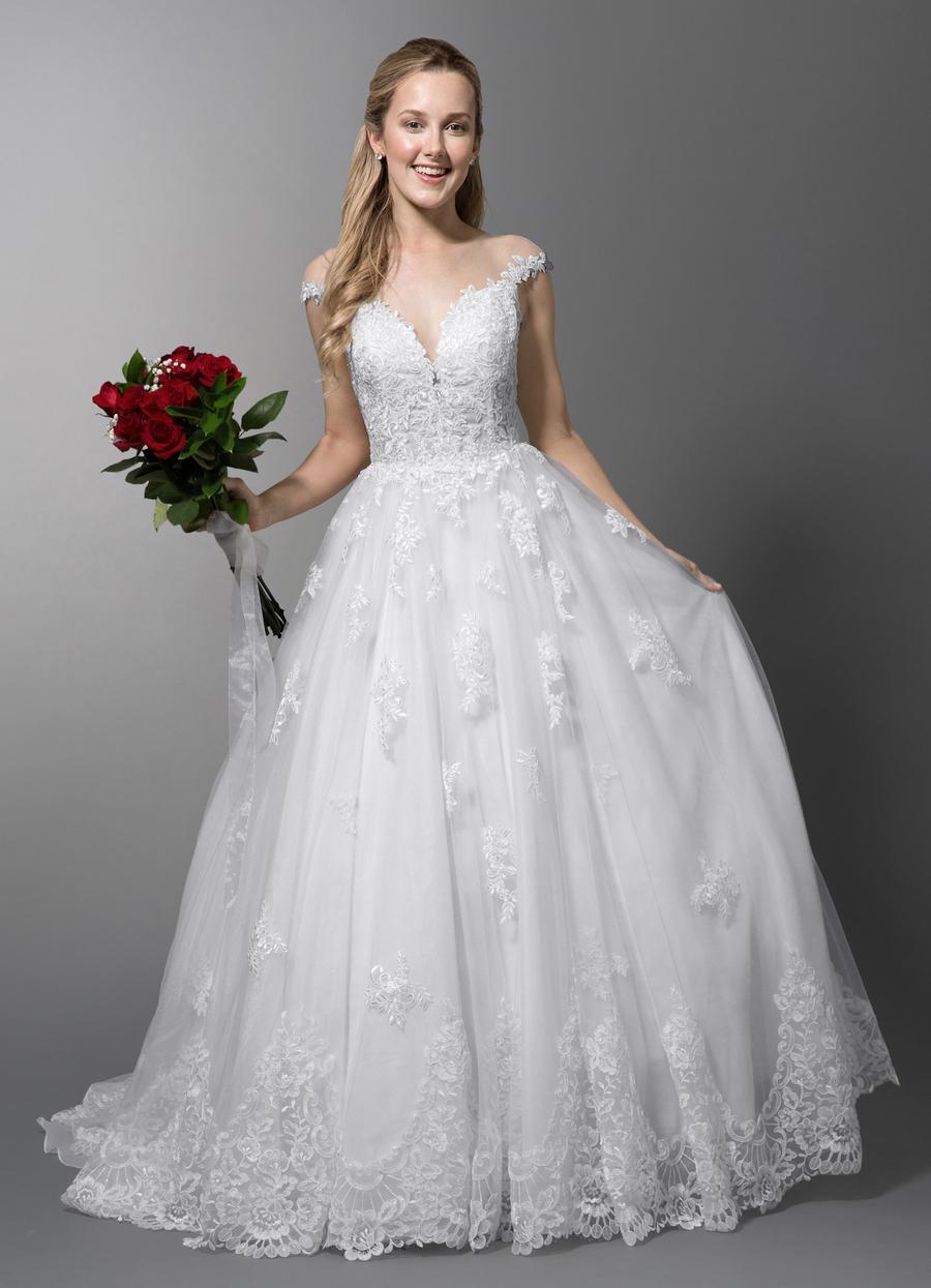 Azazie Angelique Wedding Dress