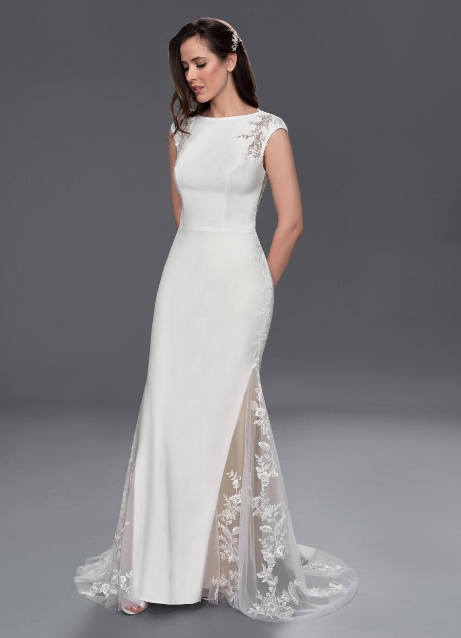 Azazie Hennessy Wedding Dress