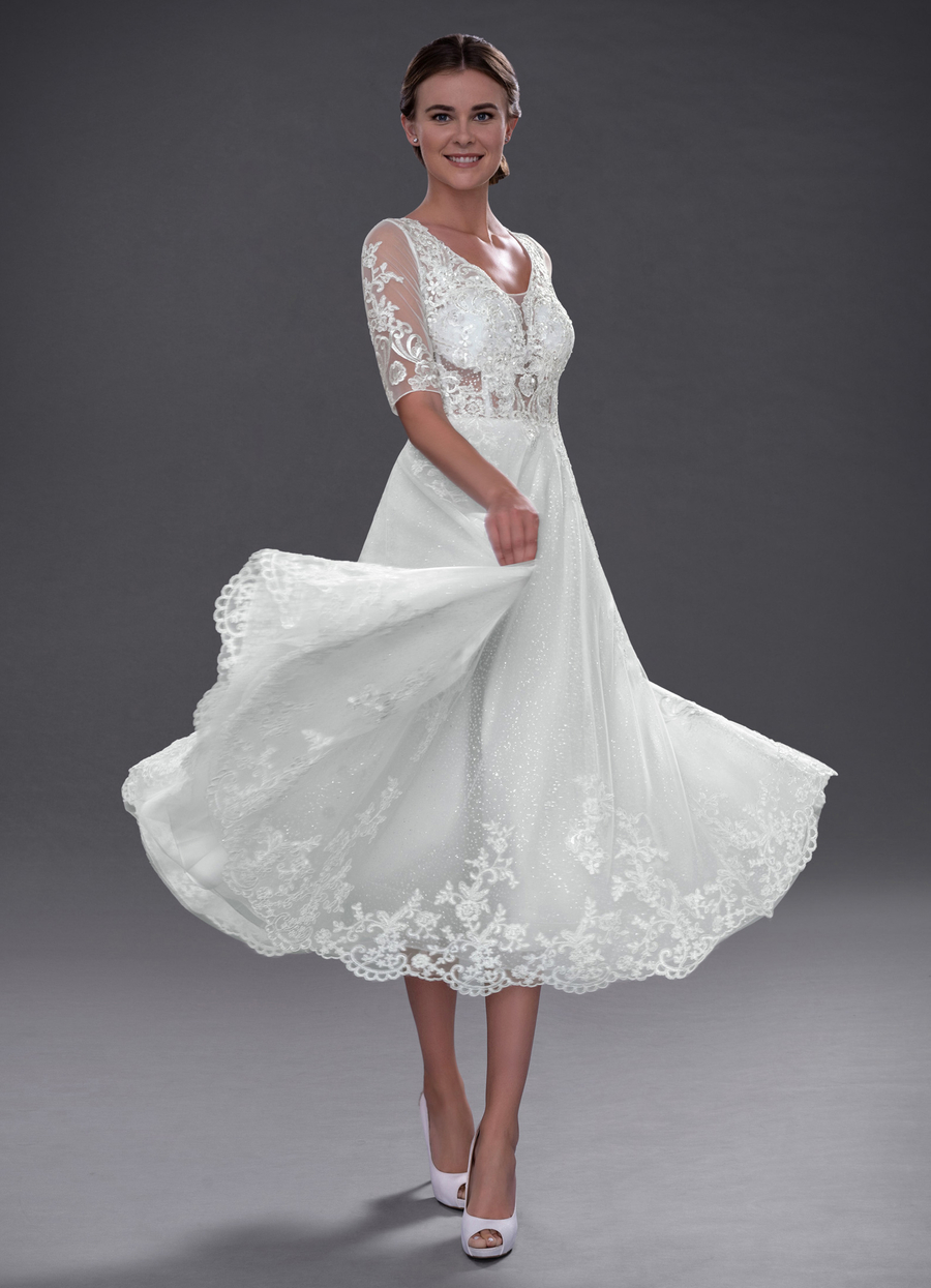 Azazie Sarita Wedding Dress