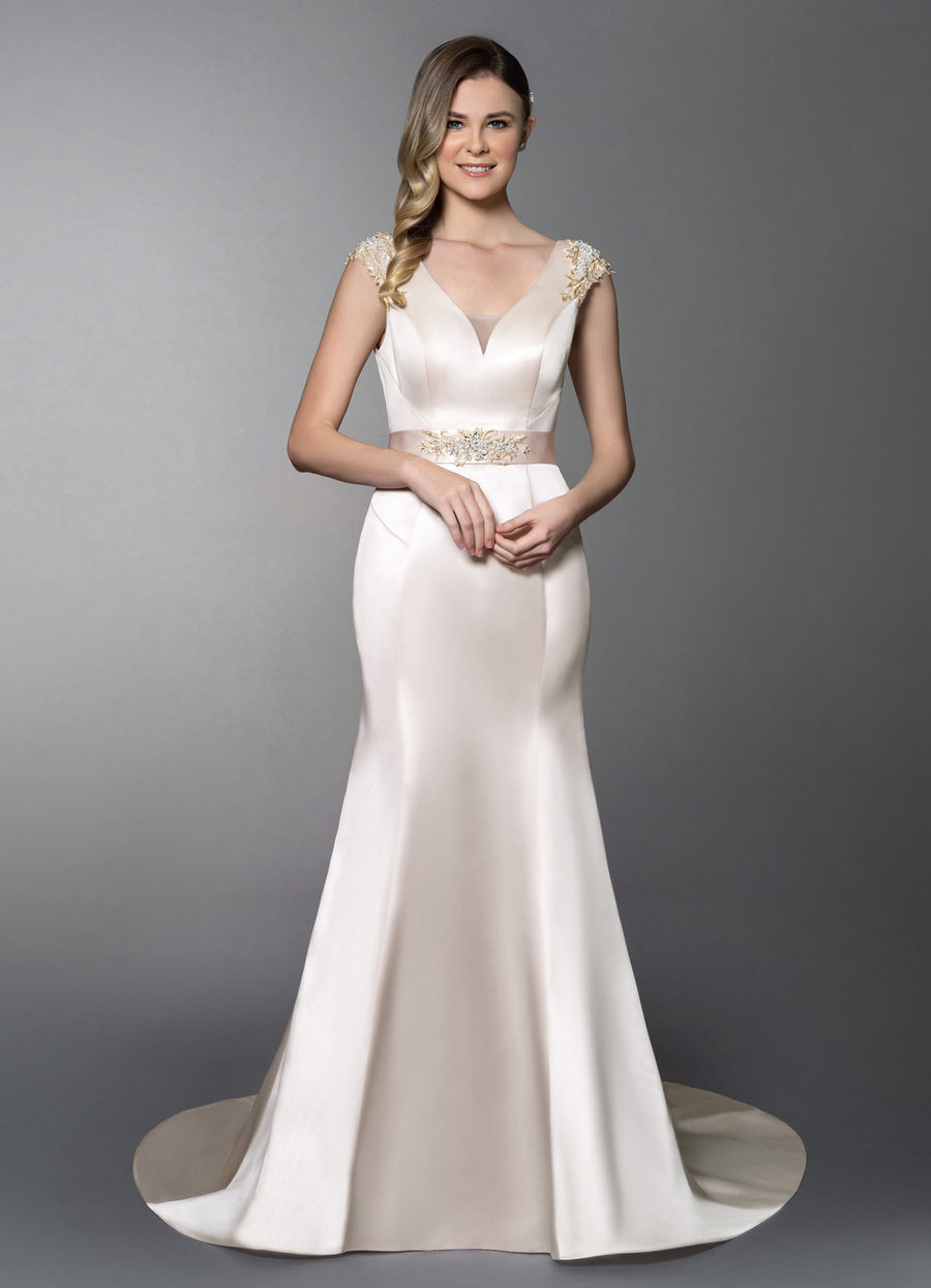Azazie Aurelia Wedding Dress