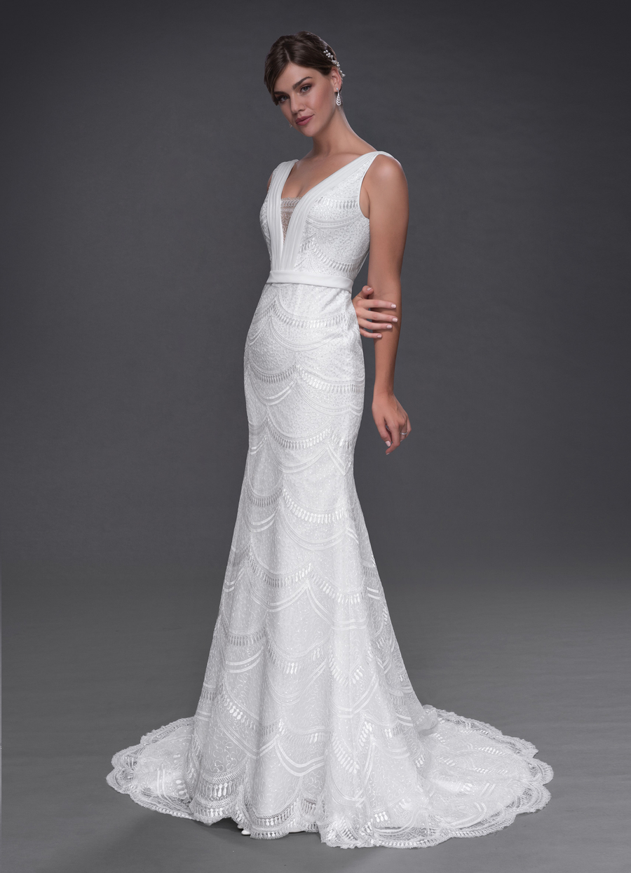 Azazie Monique Wedding Dress