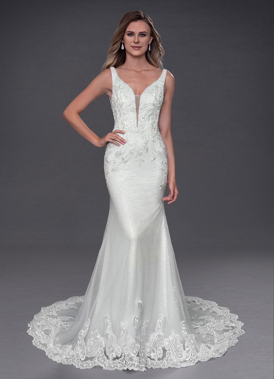 Azazie Nelly Wedding Dress