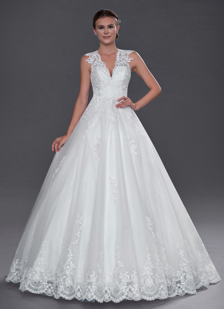 Azazie Cicely Wedding Dress