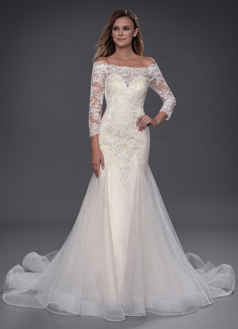 Azazie Evetta Wedding Dress
