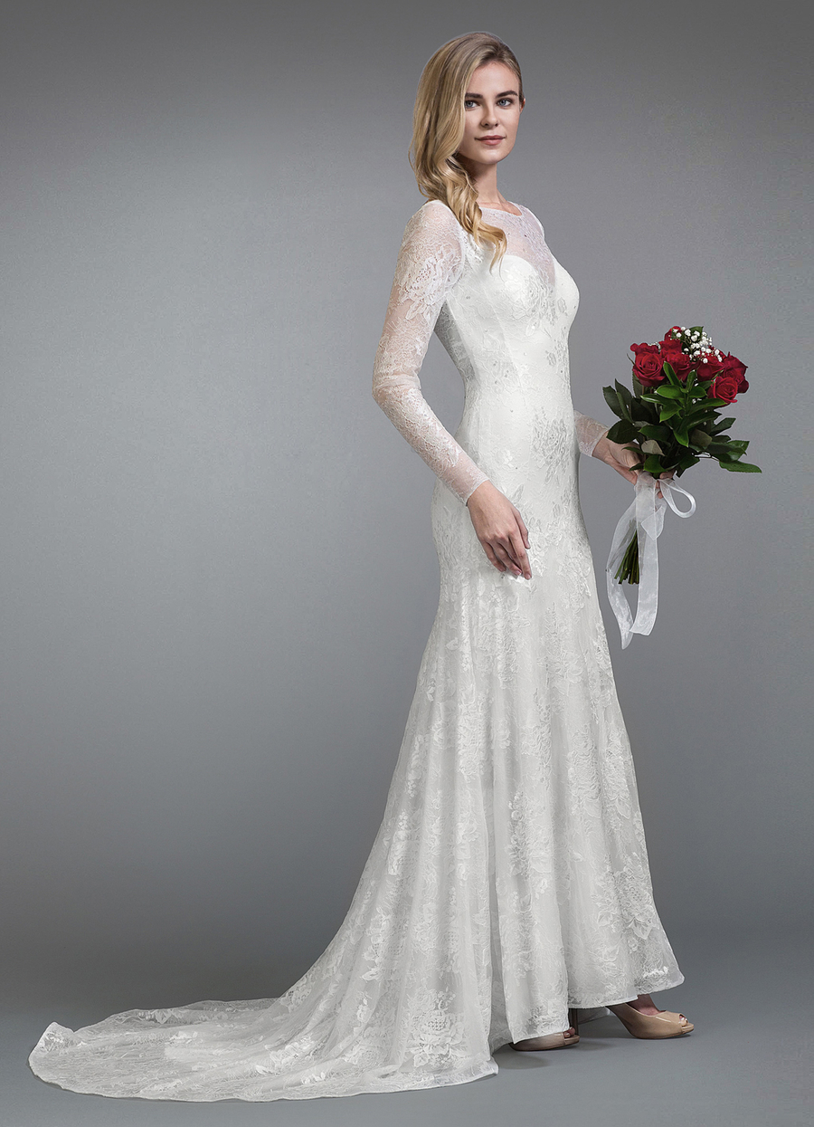 Azazie Ember Wedding Dress