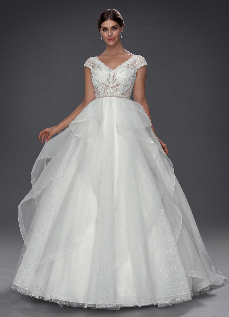 Azazie Lysandra Wedding Dress