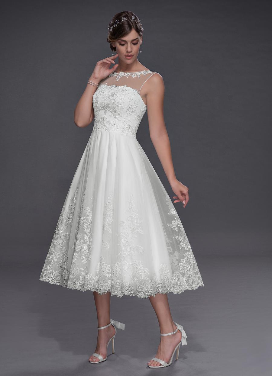 Azazie Claudette Wedding Dress