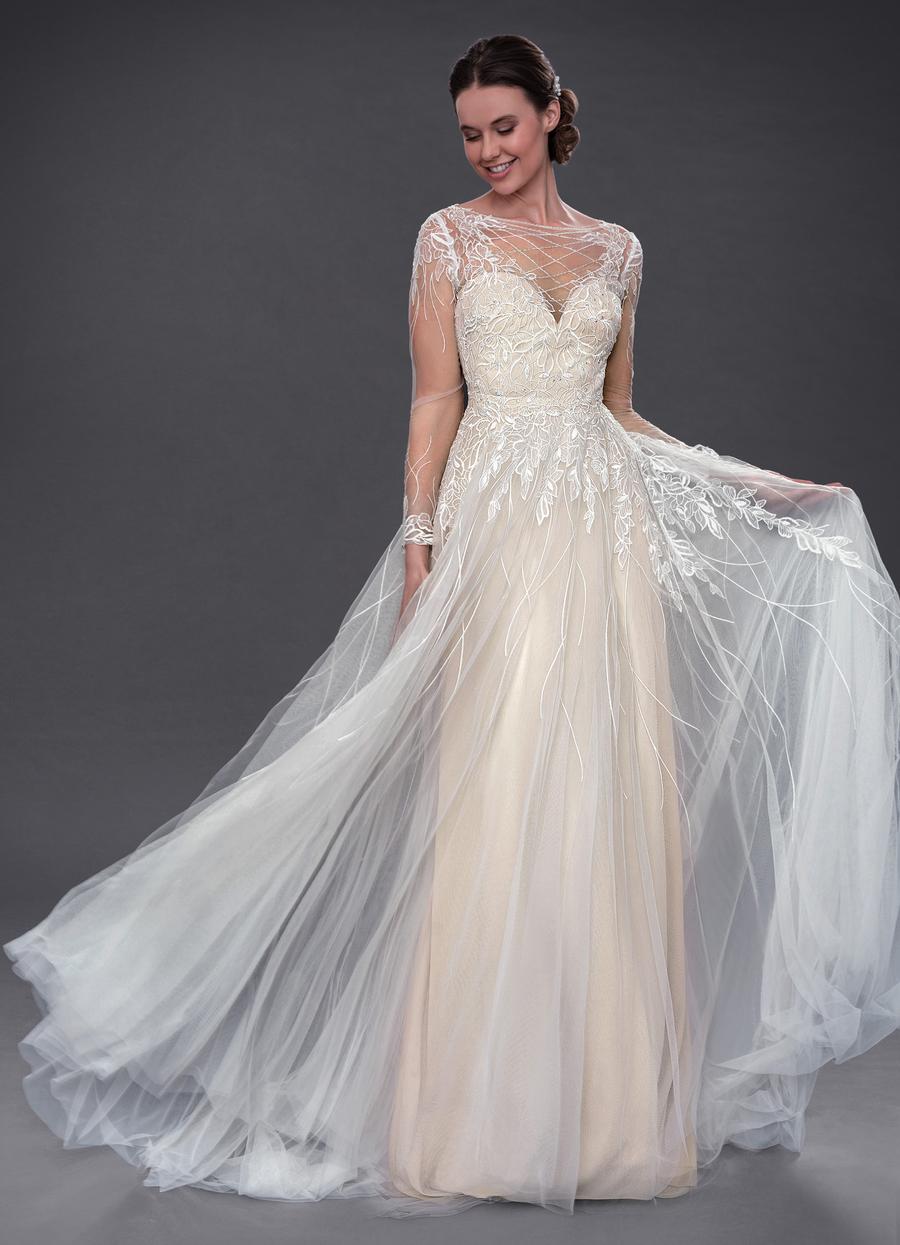 Azazie Elvina Wedding Dress