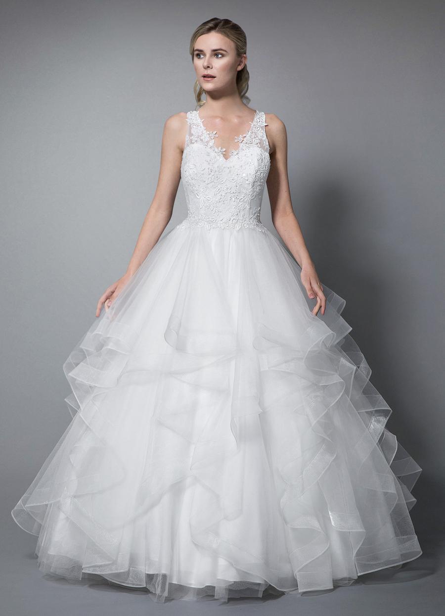 Azazie Liv Wedding Dress