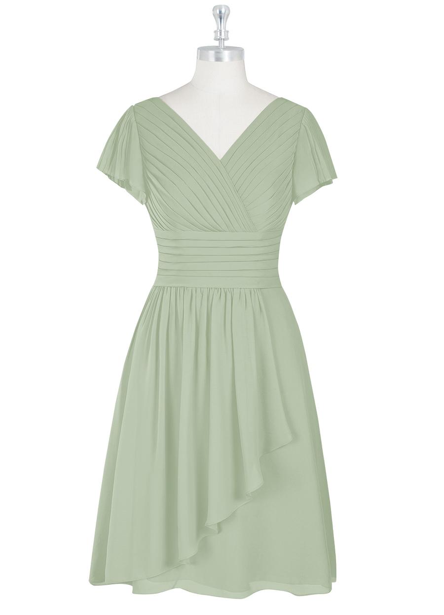 Azazie Luna Modest Bridesmaid Dress