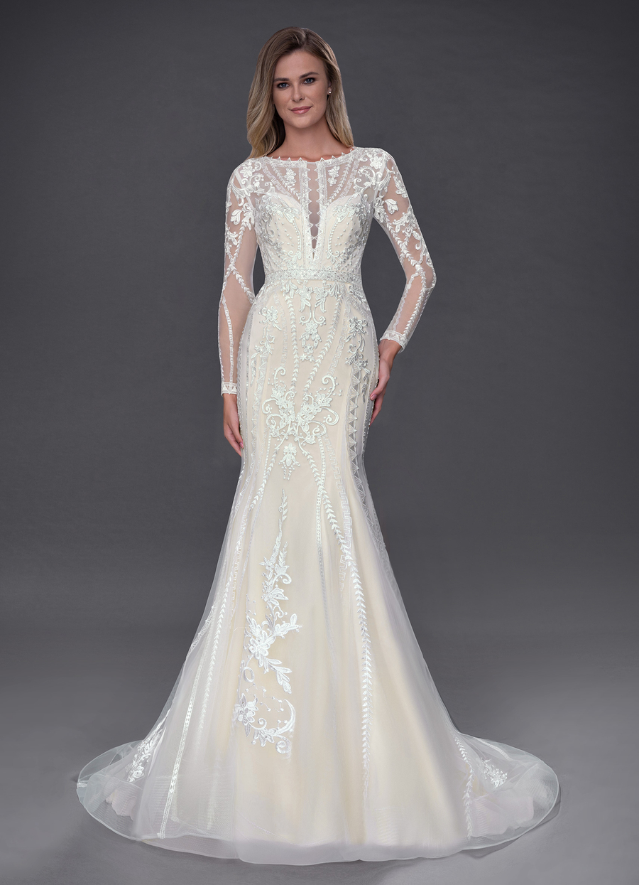 Azazie Yoki Wedding Dress
