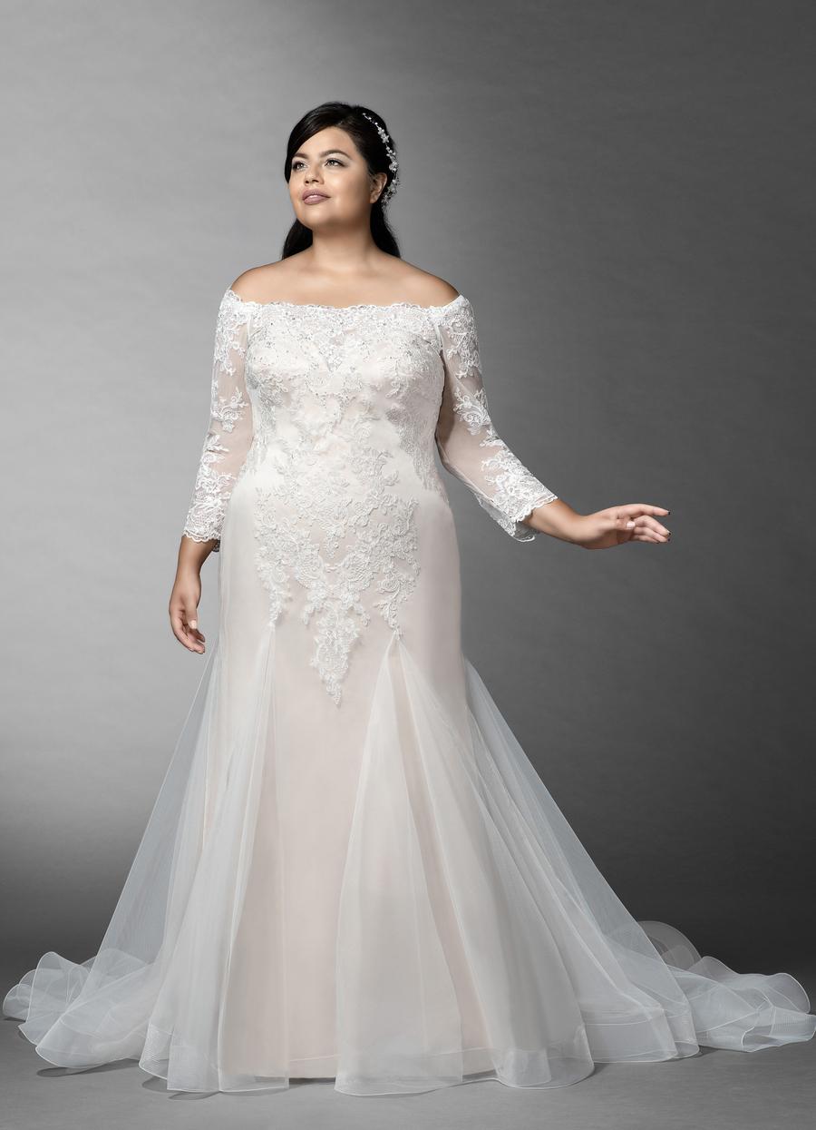 Azazie Evetta Wedding Dress