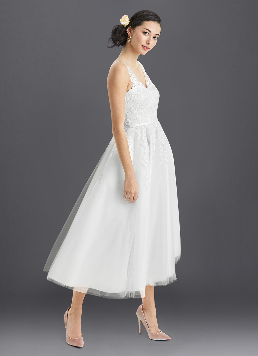 Azazie Dolores Wedding Dress