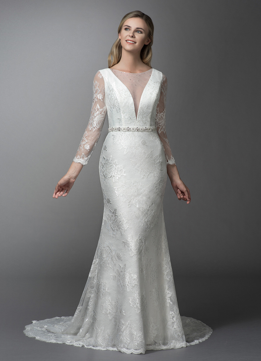 Azazie Lenore Wedding Dress