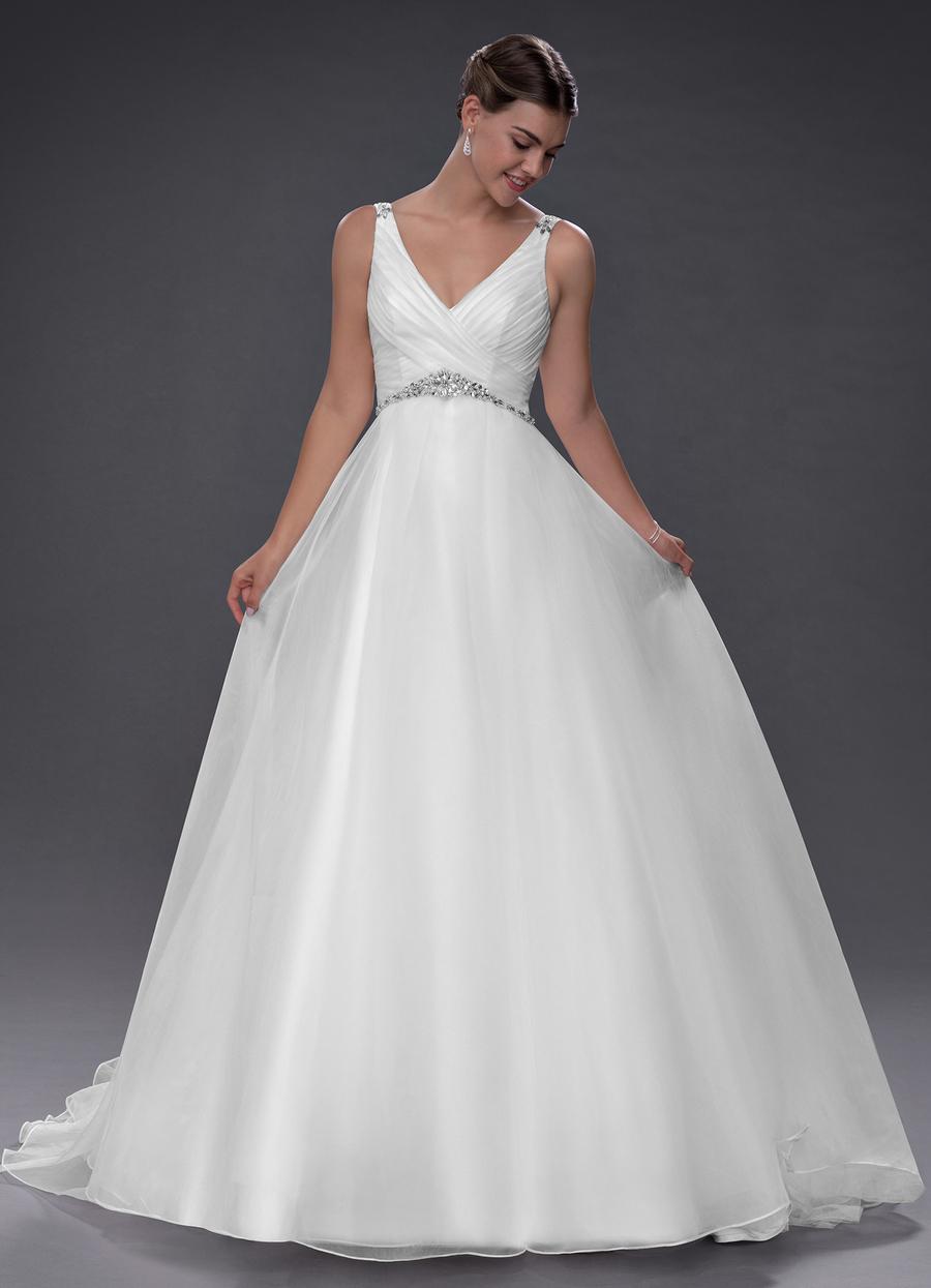 Azazie Delilah Wedding Dress