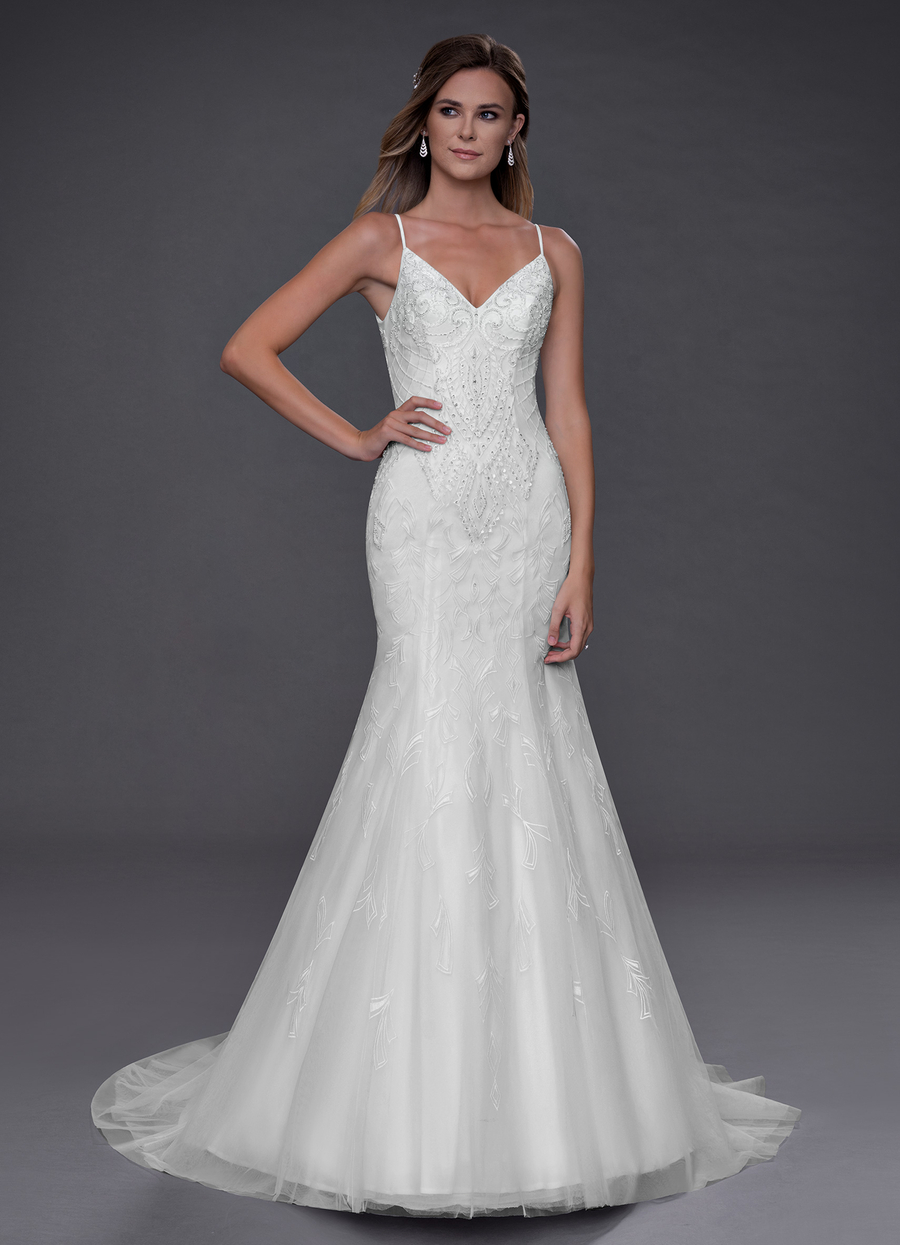 Azazie Glory Wedding Dress