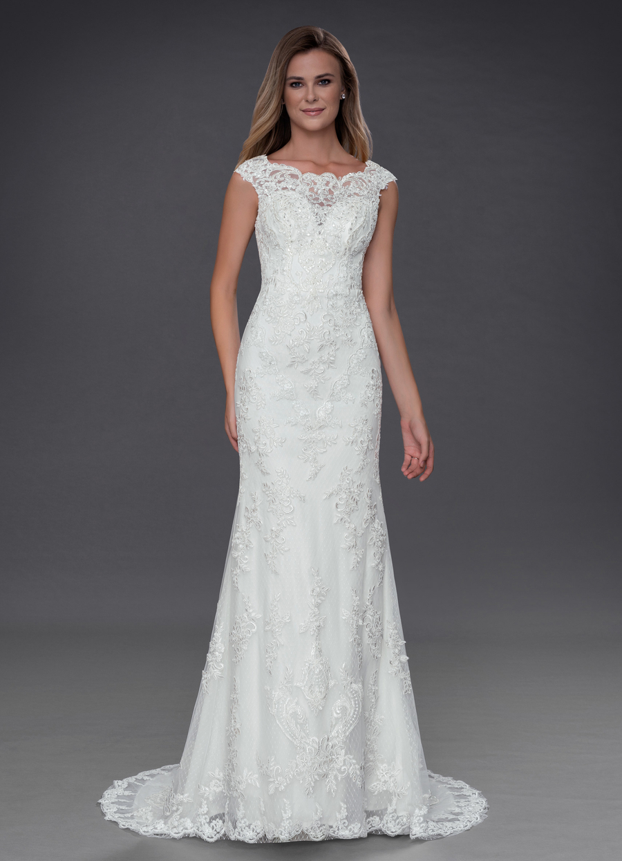 Azazie Amora Wedding Dress
