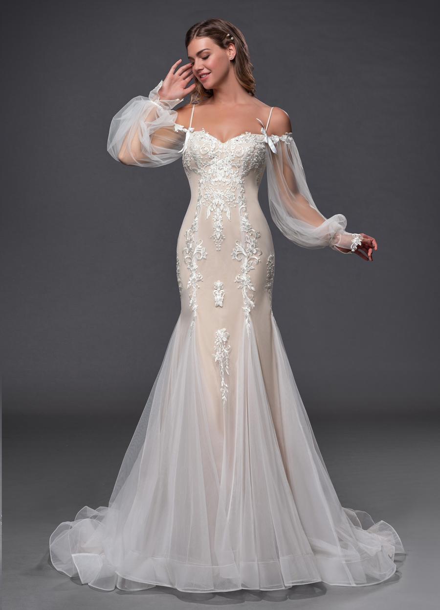 Azazie Pepper Wedding Dress