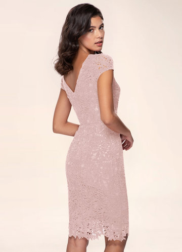 back_Blush Mark Heavenly Kiss {Color} Lace Bodycon Dress