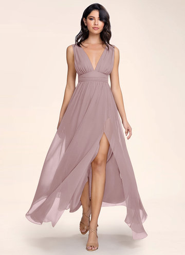 Blush Mark Dancing Queen vintage mauve Maxi Dress