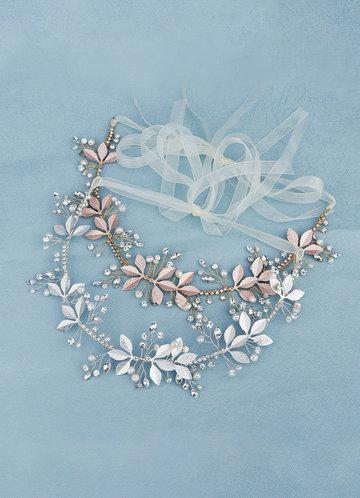 front_Breathless Floral Vine Headband
