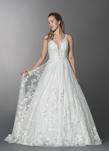 Azazie Clary Wedding Dress