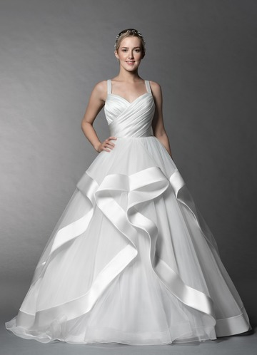 Azazie Lotus Wedding Dress