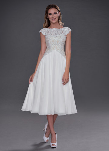 Azazie Lark Wedding Dress