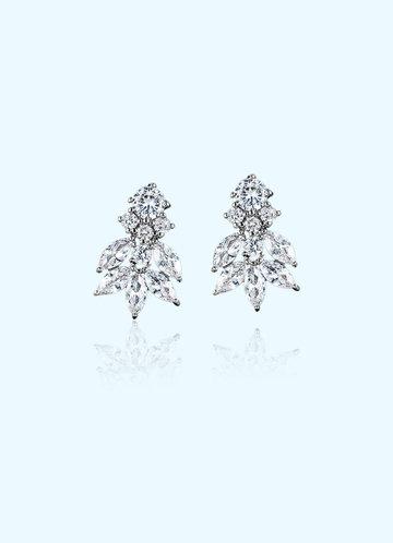 front_Angel Leaf Earrings