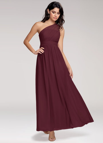 Blush Mark Magical Day cabernet Maxi Dress