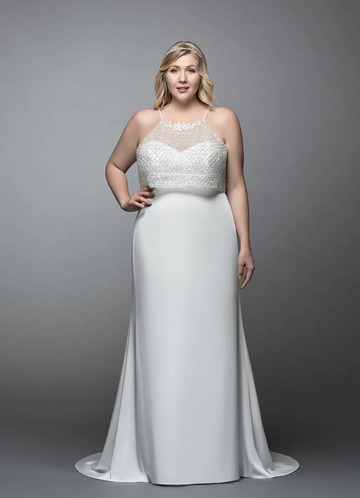Azazie Tulip Wedding Dress