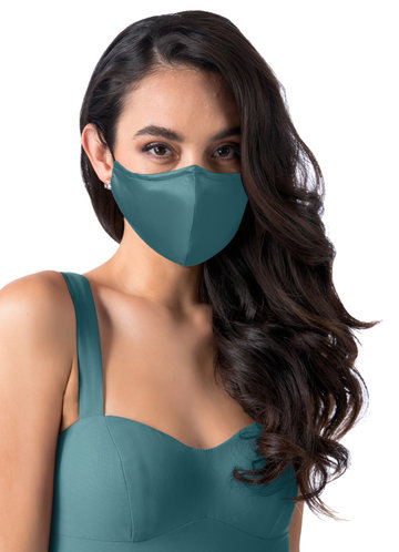 front_Updated Non-Medical Matte Satin Reusable Face Mask