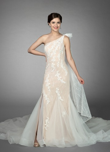 Azazie Quincy Wedding Dress