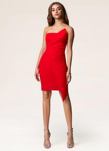 Charmed Life Red Mini Dress