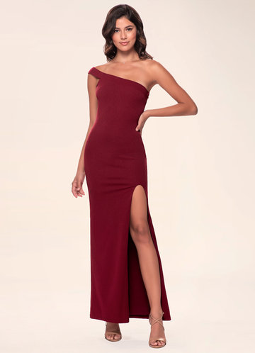Iconic Burgundy Maxi Dress