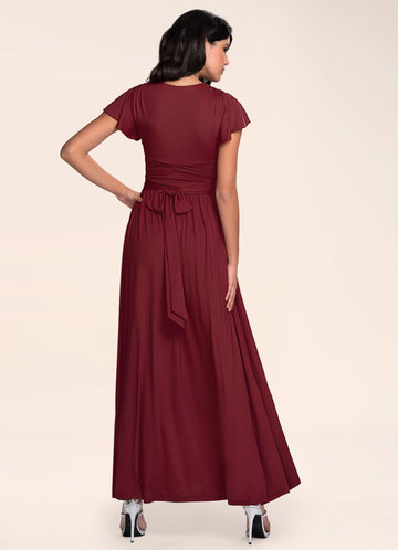 back_Blush Mark Earnest Of Style {Color} Maxi Dress