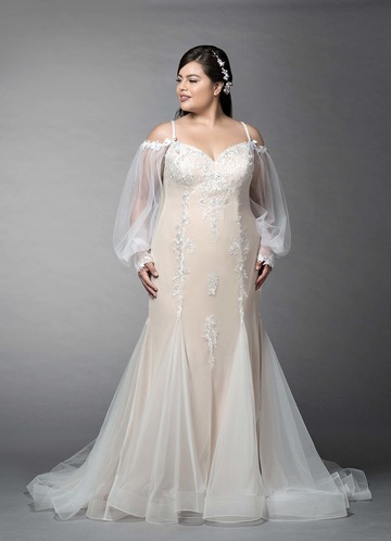 Azazie Pepper Wedding Dress