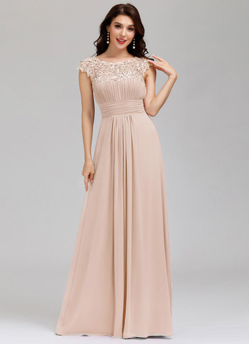 front_EVER-PRETTY Cut Out Back Lace Bodice Dress