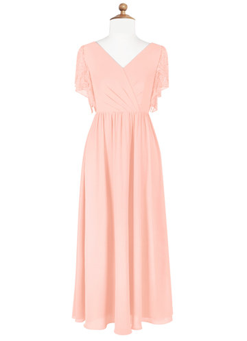 Azazie Zella Junior Bridesmaid Dress