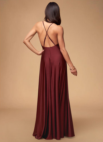 back_Blush Mark Plus Size City Of Light  Maxi Dress