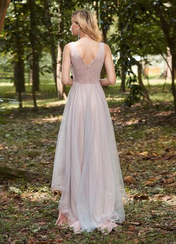back_EVER-PRETTY Asymmetrical Hem Applique Prom Dress