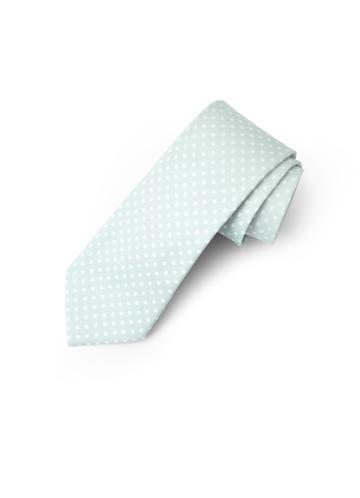 Gentlemen's Collection Pin Dots Skinny Tie