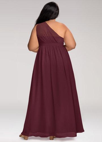 back_Blush Mark Plus Size Magical Day  Maxi Dress