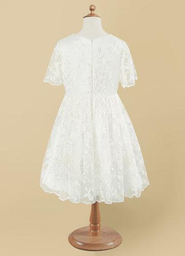 back_Azazie Mietta Flower Girl Dress