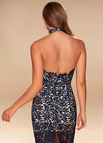 back_Elixir of Love {Color} Lace Midi Dress