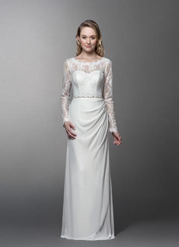 Azazie Chantrelle Wedding Dress