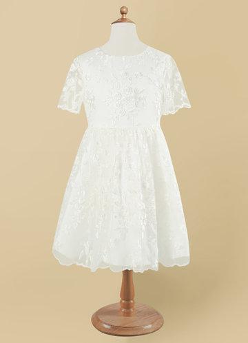 front_Azazie Mietta Flower Girl Dress
