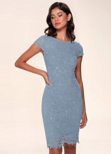front_Blush Mark Heavenly Kiss {Color} Lace Bodycon Dress