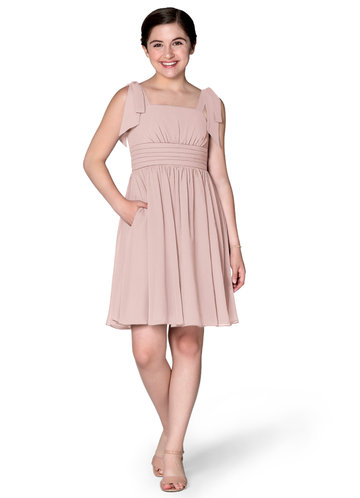 Azazie Jordanna Junior Bridesmaid Dress
